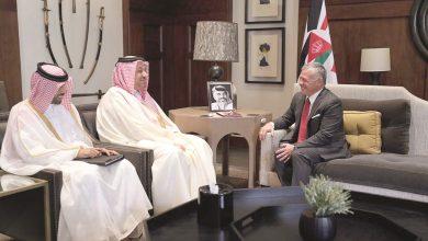 Deputy Prime Minister meets Jordan's King