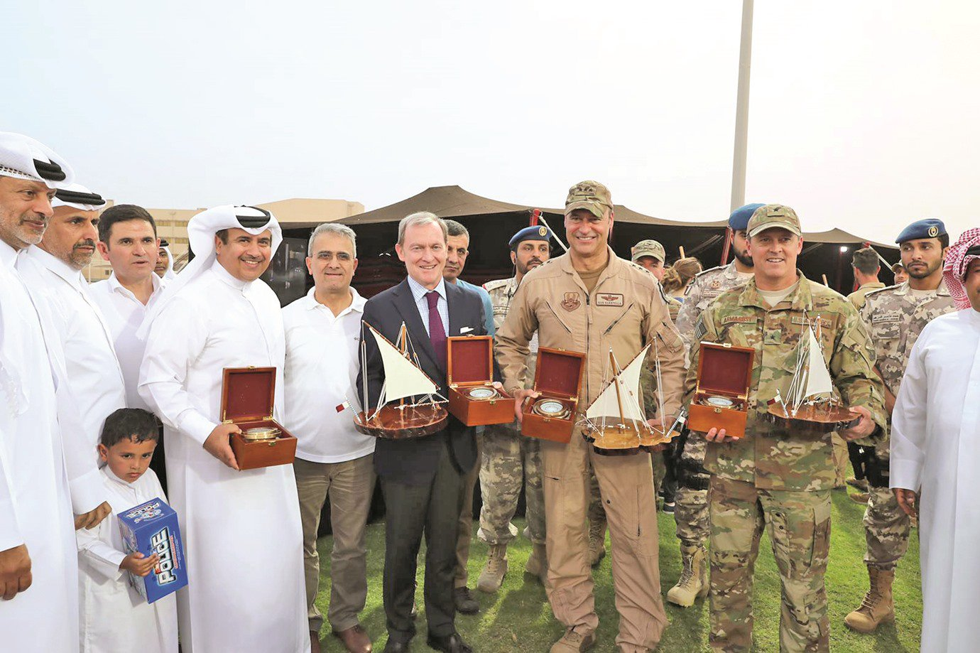 Al Udeid Air Base holds second edition of Family Day Festival