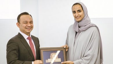 Sheikha Hind meets Malaysian Education Minister