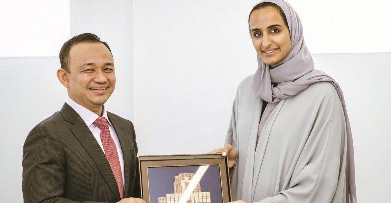 Sheikha Hind meets Malaysian Education Minister