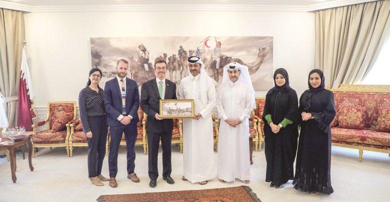 US embassy delegation visits QRCS