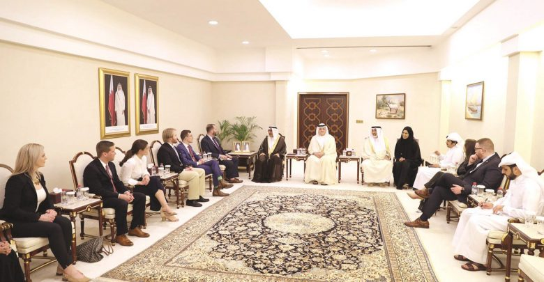Ways to support Qatar-US Parliamentary ties discussed