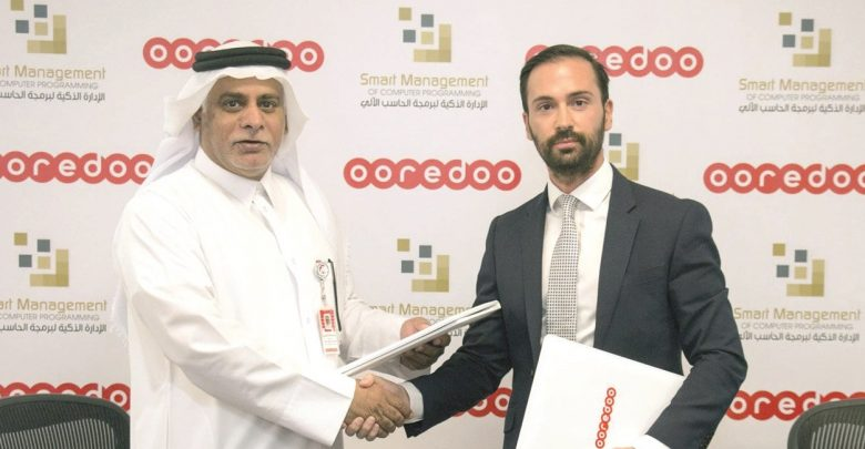 Ooredoo partners with Smart Management IT Solutions