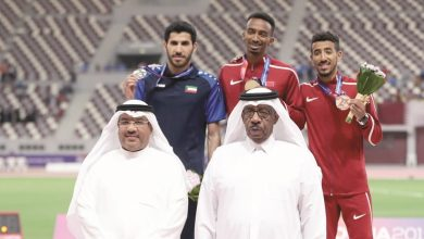 3 medals for Qatar in «Asian Athletics Championships»
