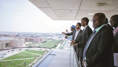 QF welcomes Gambian delegation to Education City