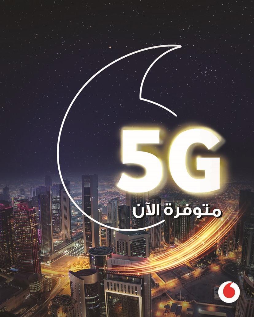 Vodafone makes 5G available in Qatar homes