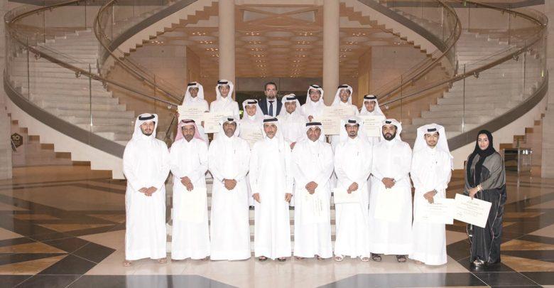 Minister of Culture honours Qatari delegation for their performance at Arab Robotics Championship
