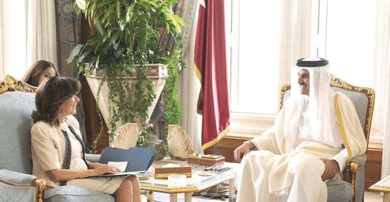 Amir meets with President of Italian Senate