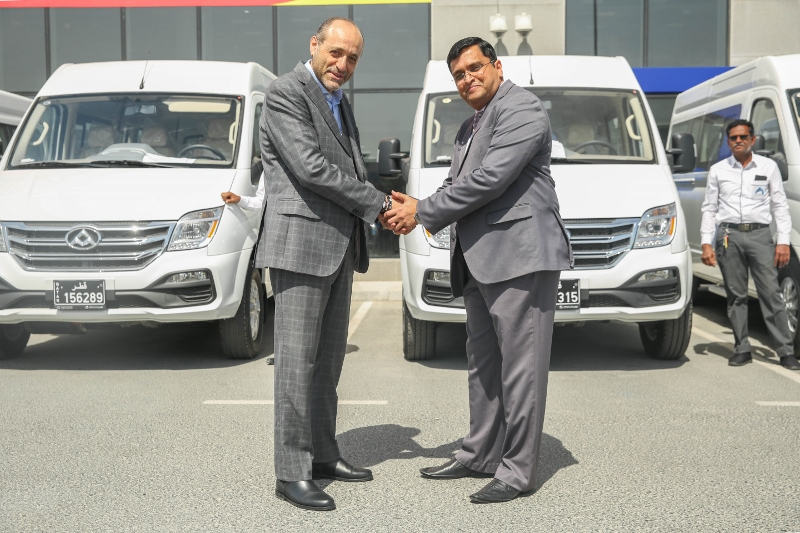 Auto Class cars signs a deal to supply  TRI LOGISTICS with 40 Maxus V80 vans