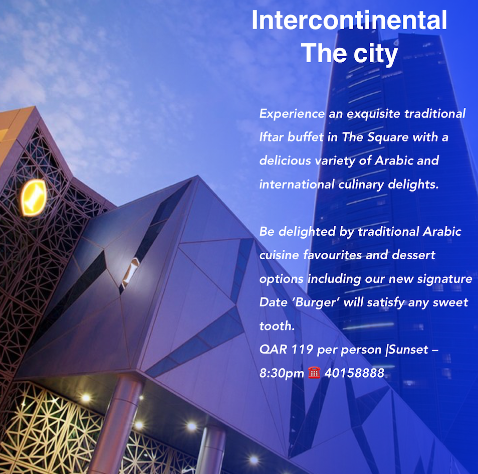 Ramadan tents and promotions