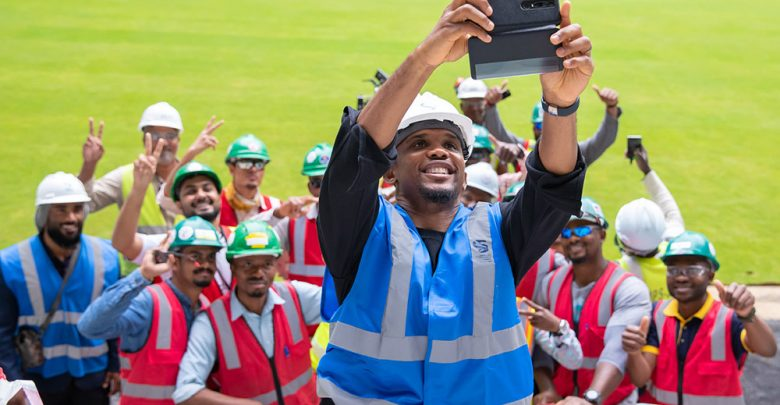 Samuel Eto'o unveiled as an SC Global Ambassador