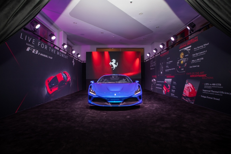 """Alfardan Sports Motors introduces the most powerful V8 Ferrari """"The all new F8 Tributo"""" at a special VIP private viewing event"""