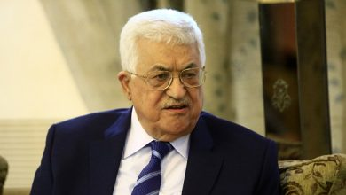 Photo of Palestinian president arrives in Doha
