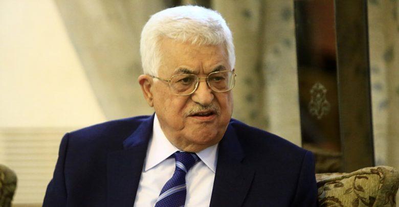 Palestinian president arrives in Doha