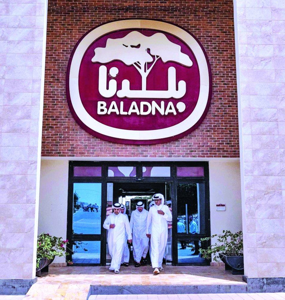 Amir visits Baladna farm