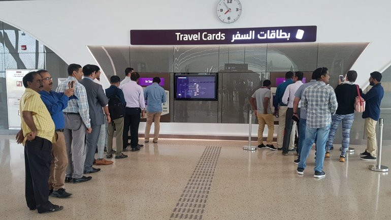 Doha Metro to run a train every six minutes; no service on weekends during preview service