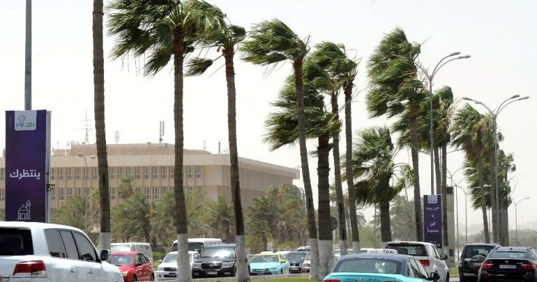 Department of Meteorology warns of strong wind, high sea
