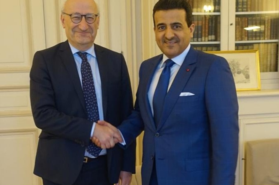 A-G meets French counterpart, Diplomatic Adviser to President