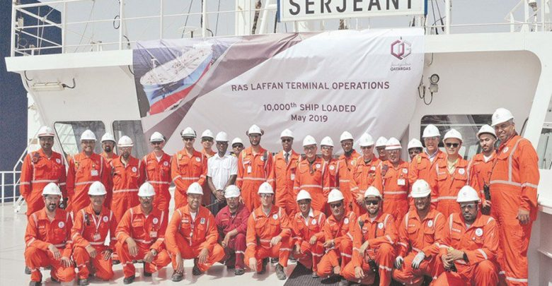 Qatargas achieves milestone with 10,000th ship loading by RLTO