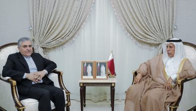 Shura Council Speaker discusses with Iranian Ambassador parliamentary relations