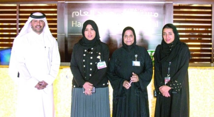 Ooredoo team visits young patients at HMC in Ramadan CSR initiative