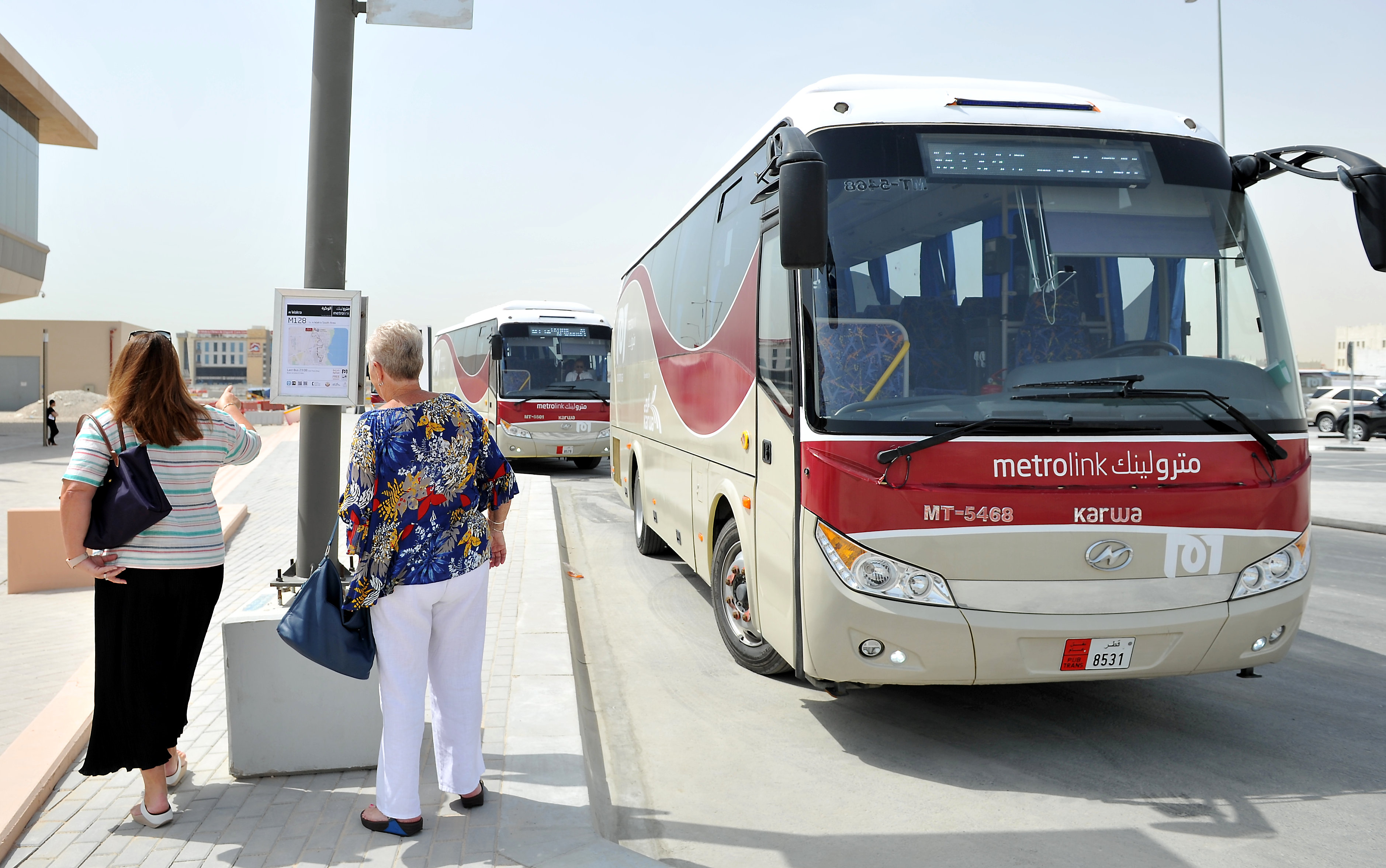 Doha Metro travellers praise feeder bus services