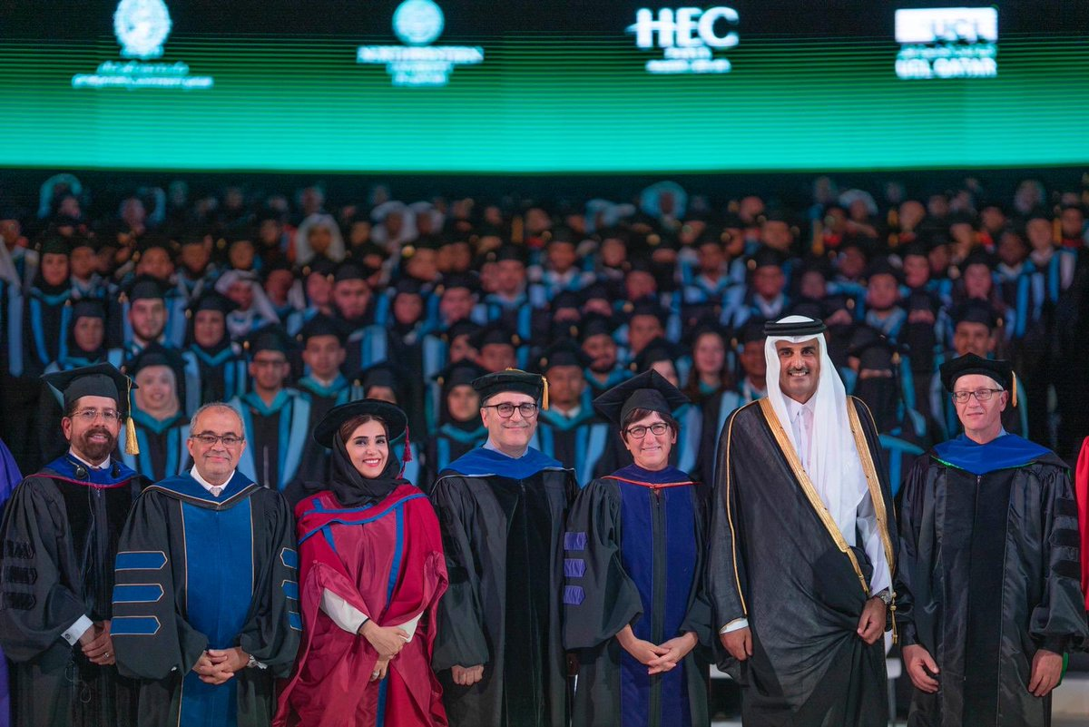 Amir attends QF convocation ceremony 2019