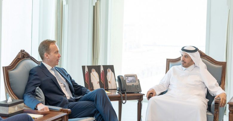 Prime Minister meets WEF President