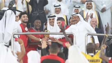 Soccer legends, 100 international media outlets in the opening of Al Wakra Stadium and Amir's Cup final