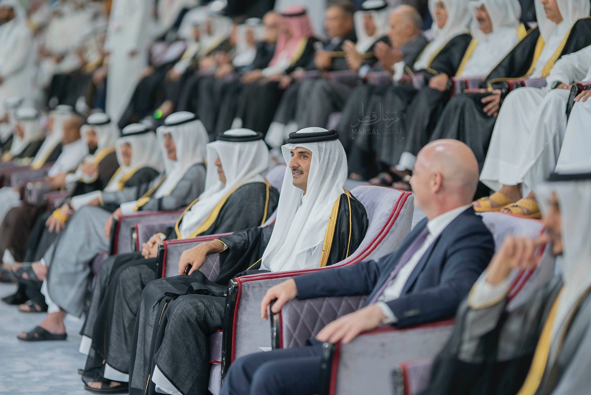 Amir inaugurates Al Janoub Stadium