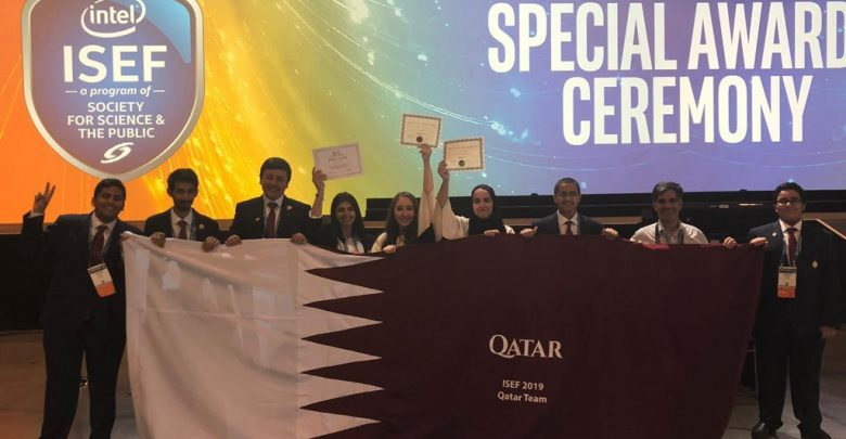 Qatari students excel at Arizona fair