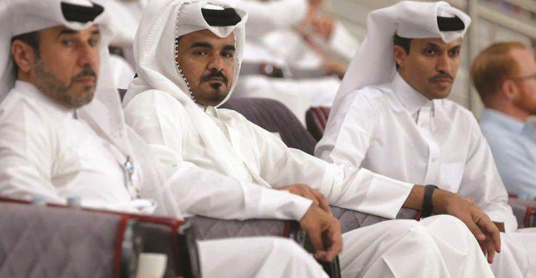Sheikh Joaan, IAAF chief Coe attend Doha Diamond League