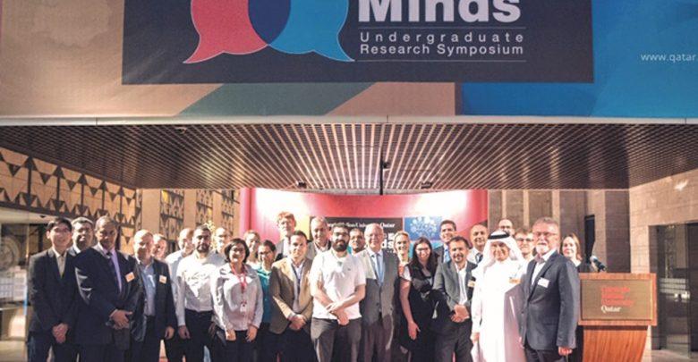 Researchers win awards at CMU-Q event