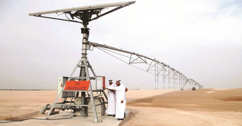 Hassad launches solar-powered irrigation technology