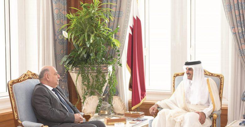 Amir meets Iraqi Oil Minister
