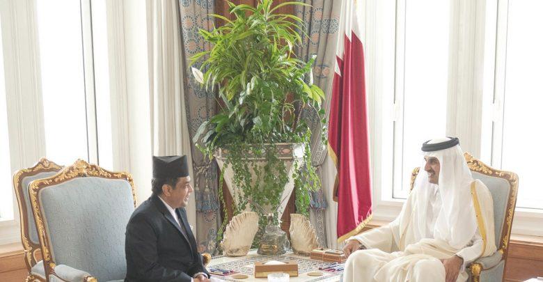 Amir meets outgoing Ambassador of Nepal