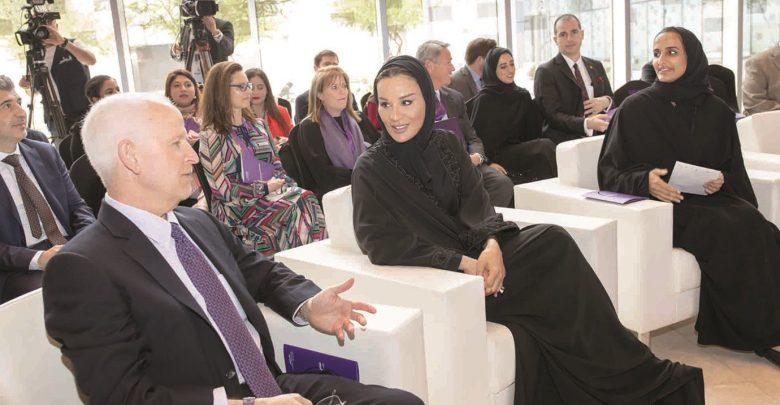 Sheikha Moza officially dedicates region's first museum on media