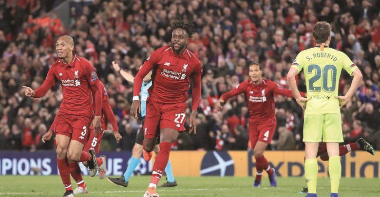Liverpool retaliate against Barcelona with historic Remontada