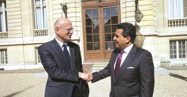 Qatar's Attorney-General meets Adviser to French President