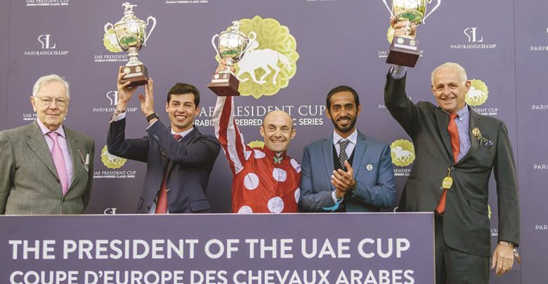 Tayf wins Group 1 President of the UAE Cup in France