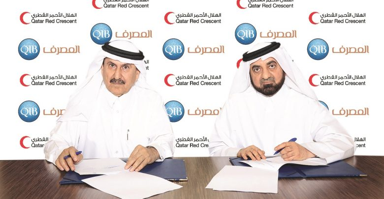 QIB signs agreement with Qatar Red Crescent Society