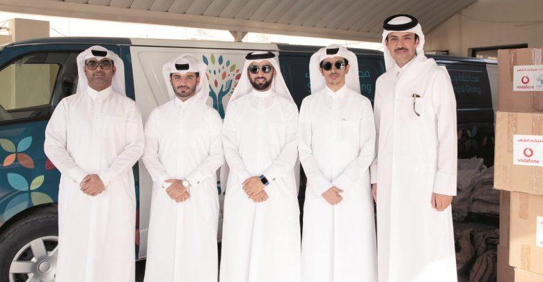 Vodafone, Hifz Al Naema Distribute Ramadan Food Baskets