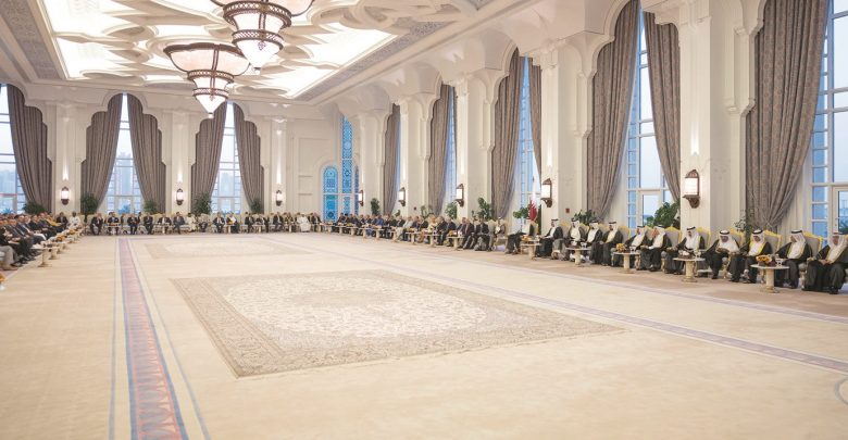 Amir hosts Iftar banquet for heads of diplomatic missions and envoys of Qatar