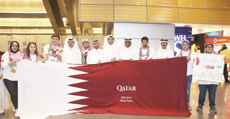 Students from Qatar achieve great results in Intel ISEF