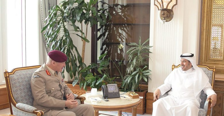PM meets UK's Defence Senior Adviser