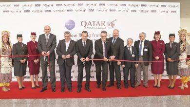 Qatar Airways inaugural flight to Izmir touches down at Adnan Menderes Airport