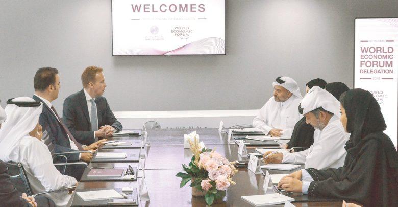 Qatar Financial Centre hosts WEF President & other delegates