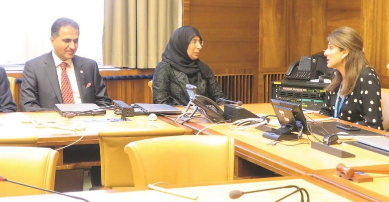 Health Minister holds meetings in Geneva to discuss health field ties