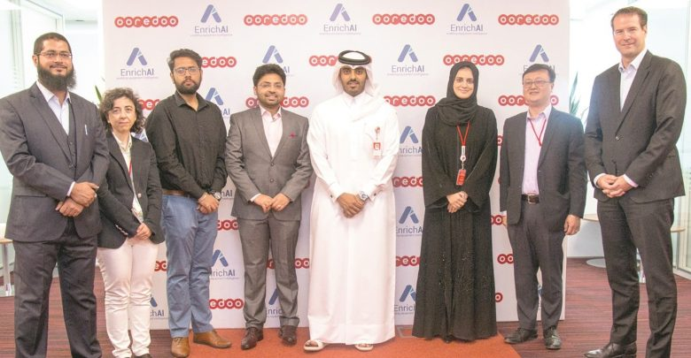 Ooredoo partners with EnrichAI to launch new IoT solutions
