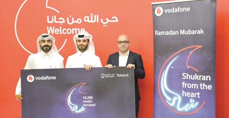 Vodafone donates over 14,000 Iftar boxes